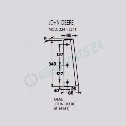 John Deere - E16461 2