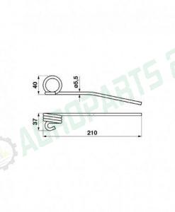 Claas Lexion -0011, 626987 3