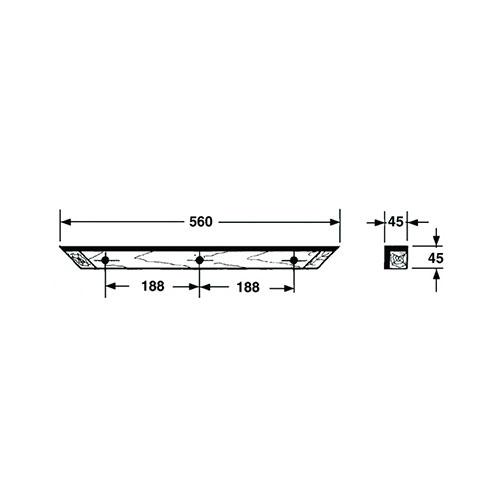 M8x60 SW13 60mm Abstandsbolzen Distanzbolzen Innen-Innen Hex Standoff Stahl vz